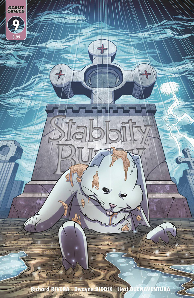 Image: Stabbity Bunny #9 (cover B - ) - Scout Comics