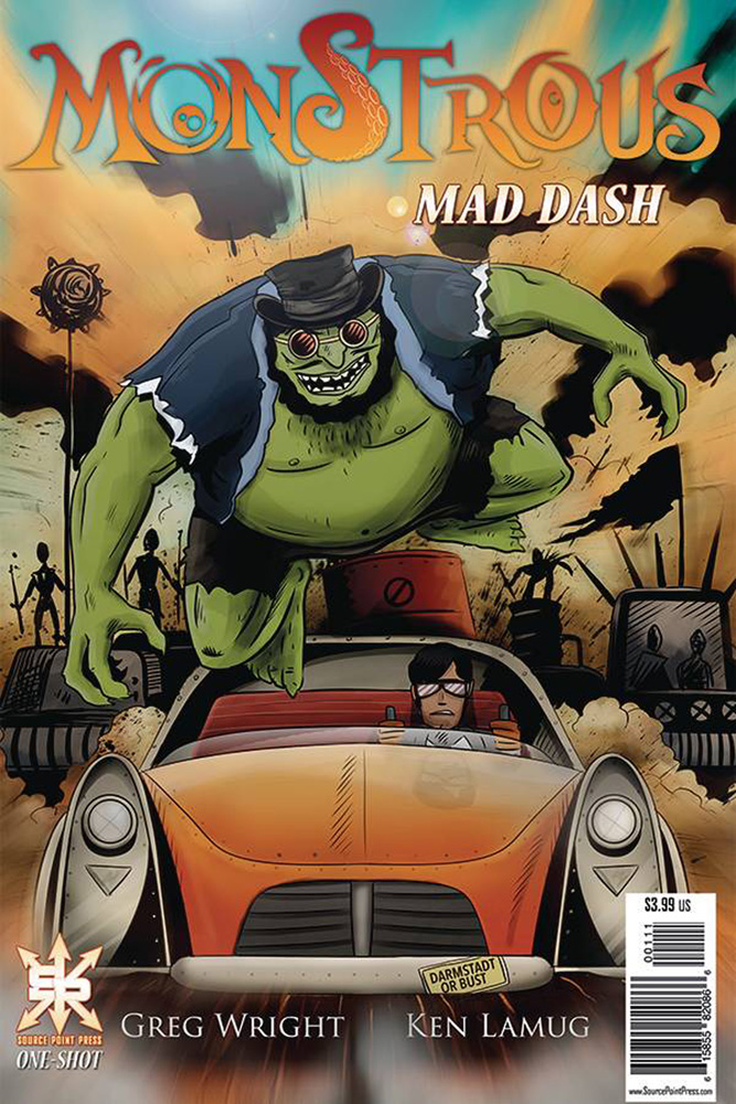 Image: Monstrous: Mad Dash   [2020] - Source Point Press
