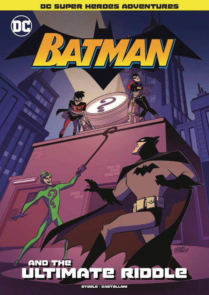 Image: DC Super Heroes Batman: Ultimate Riddle SC  (Young Readers) - Stone Arch Books