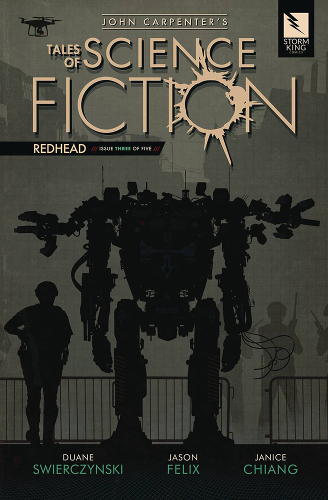 Image: John Carpenter's Tales of Science Fiction: Redhead #3 - Storm King Productions, Inc