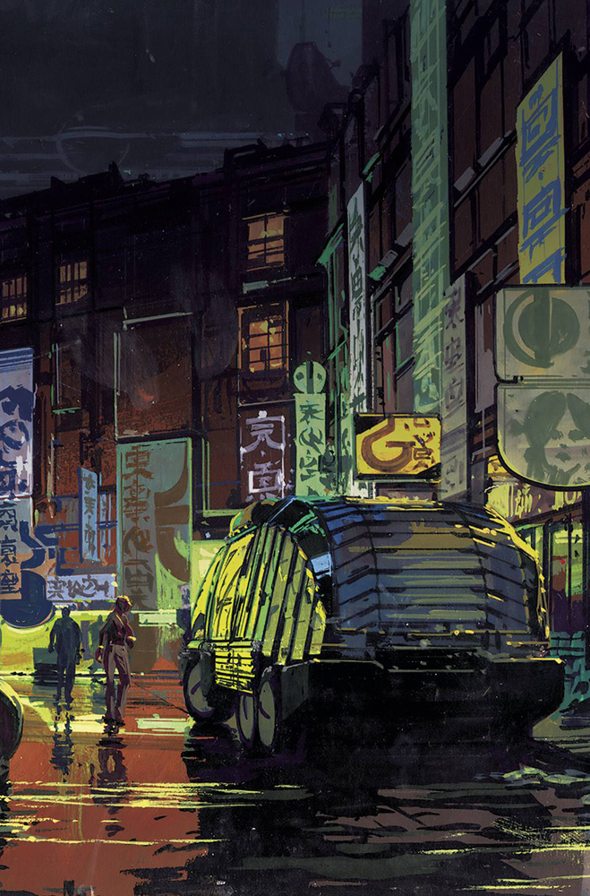 Image: Blade Runner 2019 Syd Mead Pack  - Titan Comics
