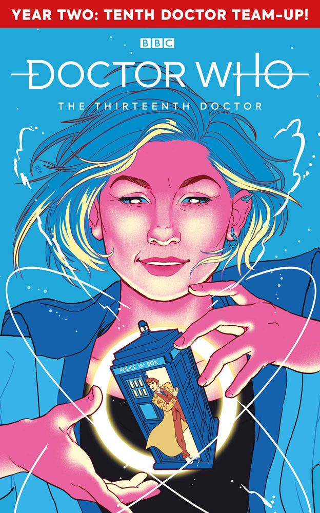 Image: Doctor Who: The 13th Doctor Season Two #1 (cover A - Ganucheau) - Titan Comics