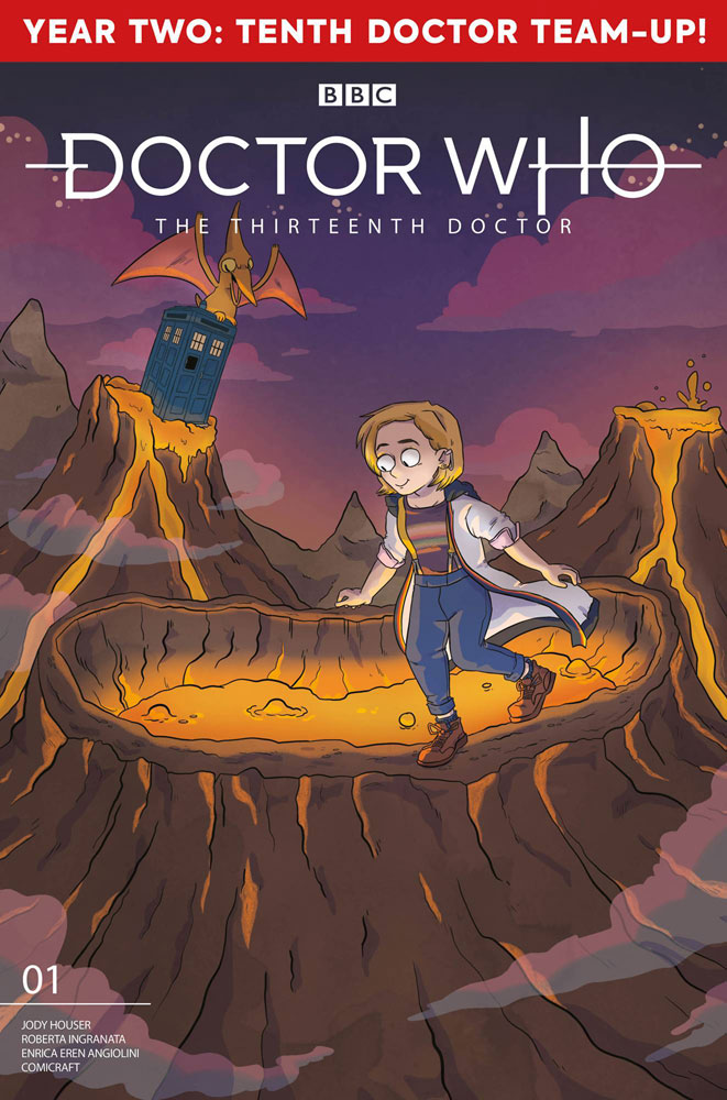 Image: Doctor Who: The Thirteenth Doctor #2.1 (cover E - Graley) - Titan Comics