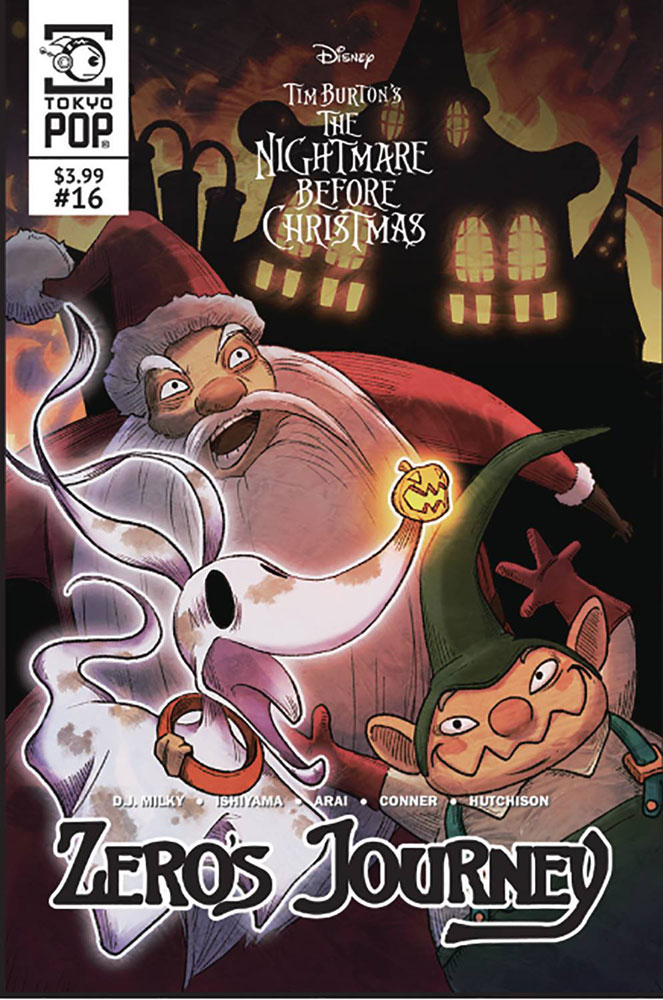 Image: Disney Tim Burton's The Nightmare Before Christmas: Zero's Journey #16 - Tokyopop