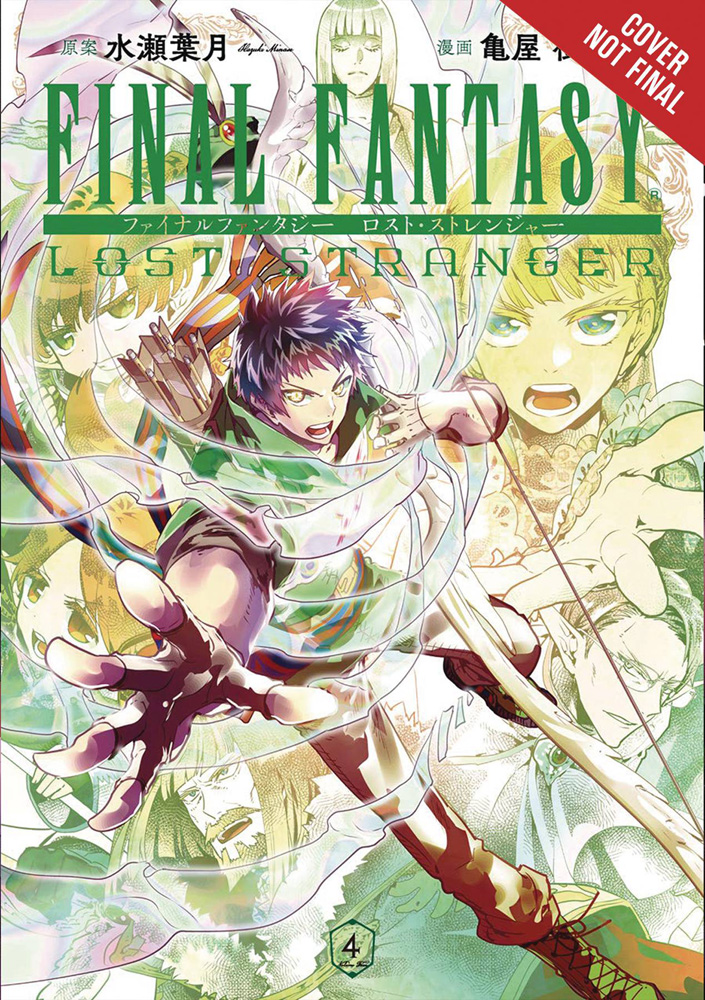 Image: Final Fantasy: Lost Stranger Vol. 04 SC  - Yen Press
