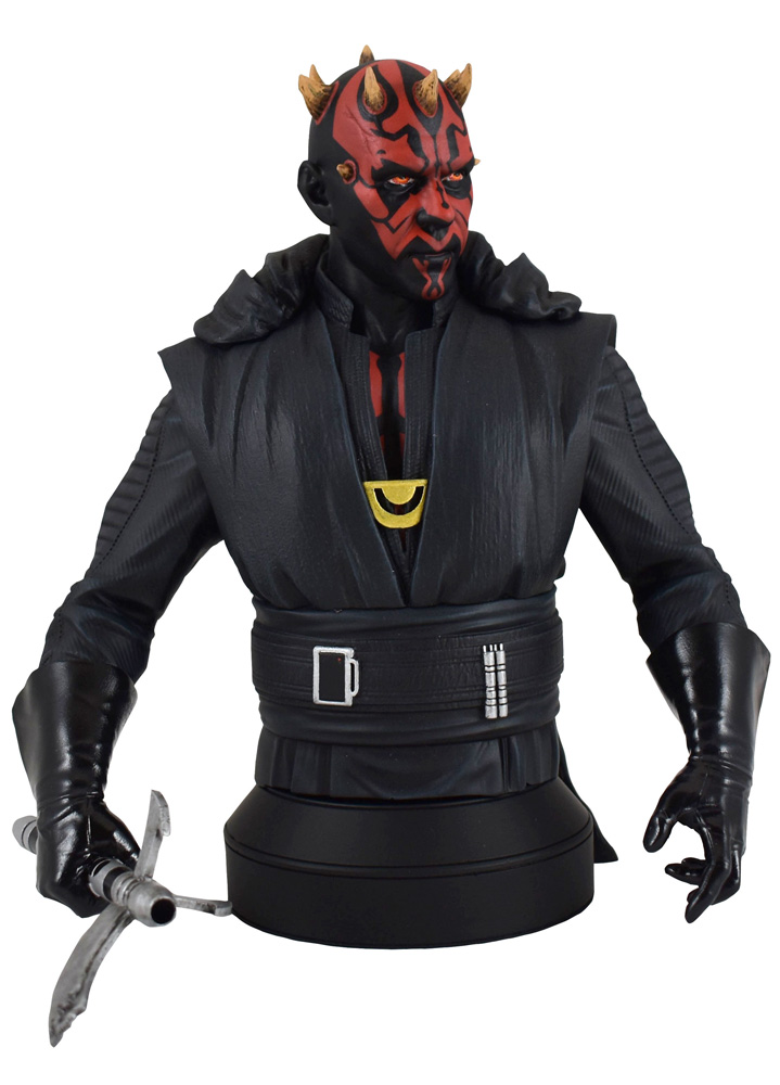 Star Wars Crimson Dawn Bust: Darth Maul  (1/6 scale) - Diamond Select Toys LLC