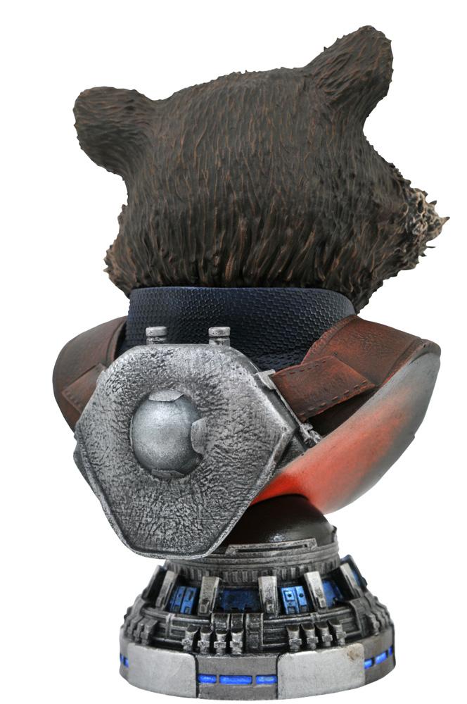 Marvel Legends in 3D Bust: Avengers3 - Rocket Raccoon  (1/2 scale) - Diamond Select Toys LLC