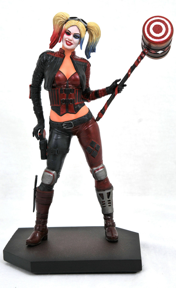 Image: DC Gallery PVC Diorama: Injustice 2 - Harley Quinn  - Diamond Select Toys LLC