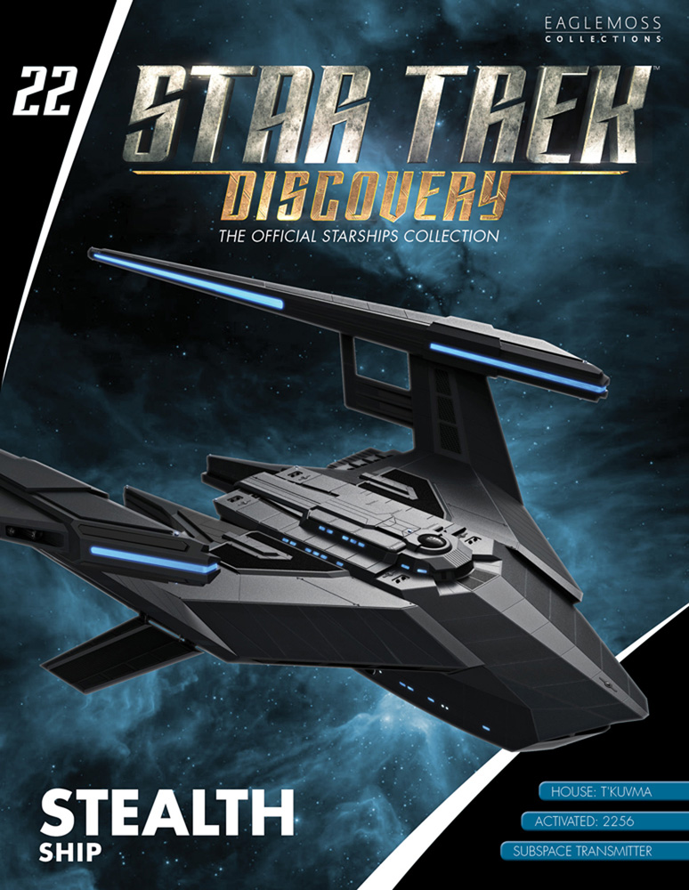 Star Trek Discovery Official Starships Collection: Stealth Ship  - Eaglemoss Publications Ltd