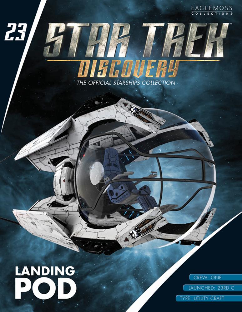Star Trek Discovery Official Starships Collection: Landing Pod  - Eaglemoss Publications Ltd