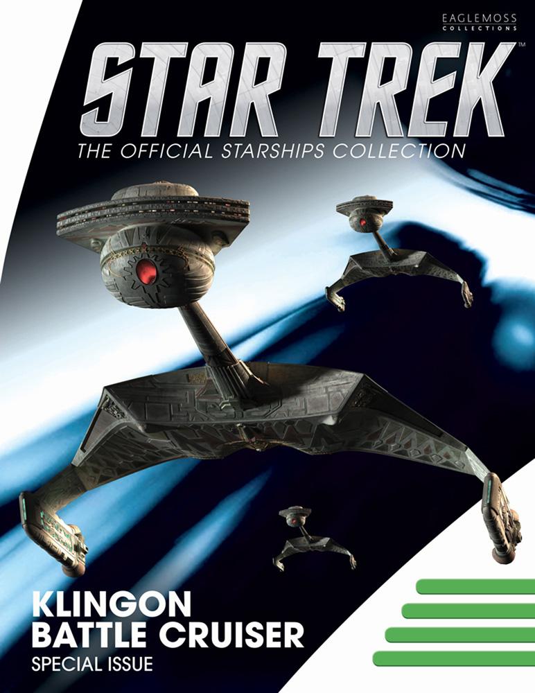 Star Trek Starships Special #18 (Klingon Ktinga-Class Battle Cruiser) - Eaglemoss Publications Ltd