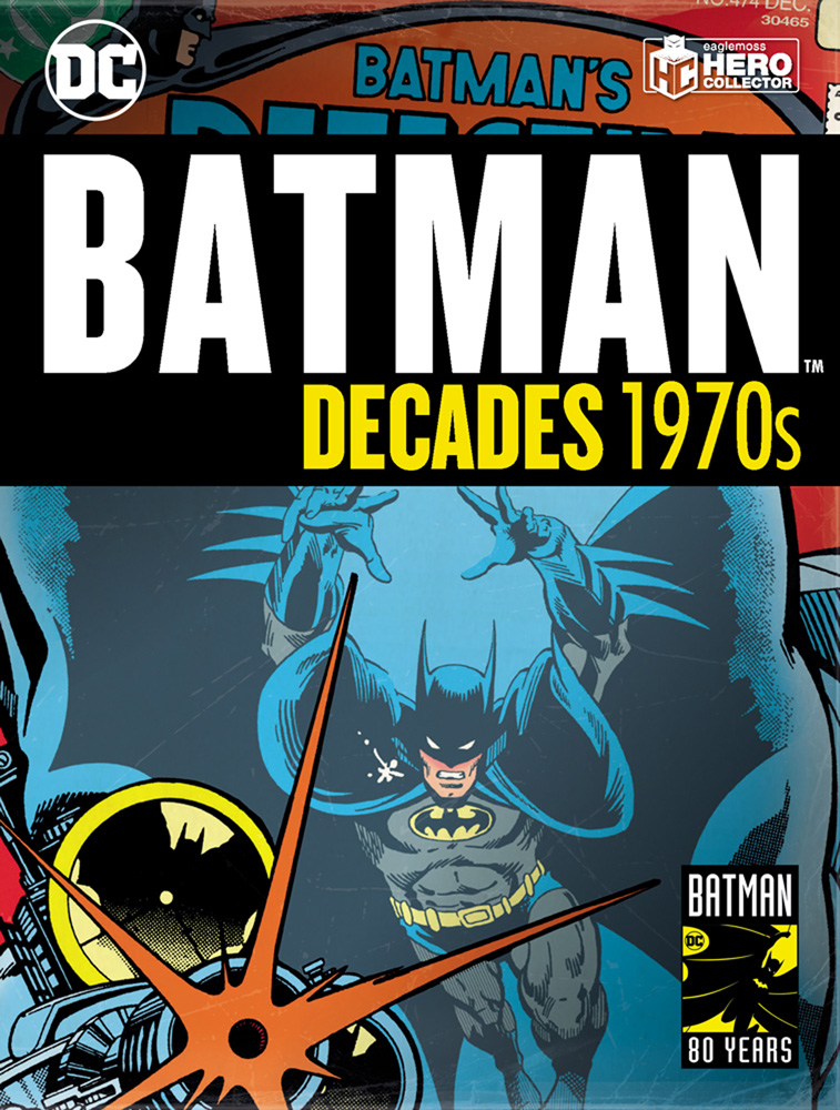 Batman Decades #4 (1970s Batman) - Eaglemoss Publications Ltd