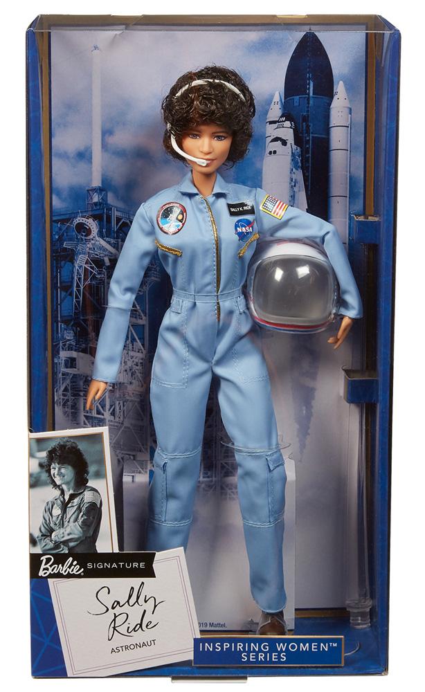 Barbie Inspiring Women Doll: Sally Ride  - Mattel Toys