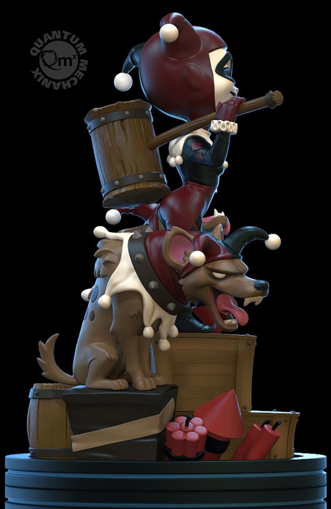 DC Heroes Q-Fig Remastered Diorama Figure: Harley Quinn  - Quantum Mechanix Inc