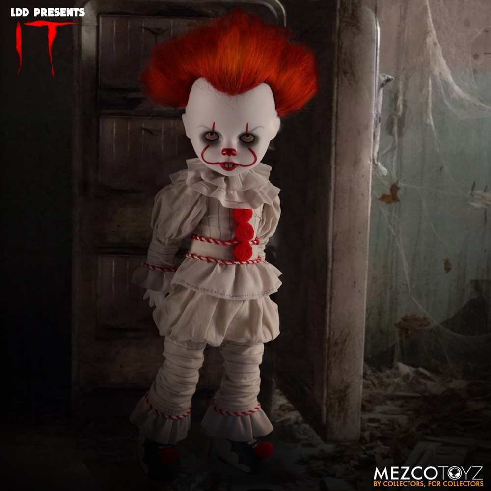 Living Dead Dolls It 2017 Doll: Pennywise  - Mezco Toys