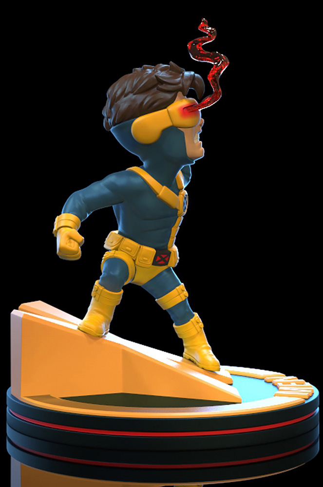 Marvel Q-Fig Diorama Figure: X-Men - Cyclops  - Quantum Mechanix Inc