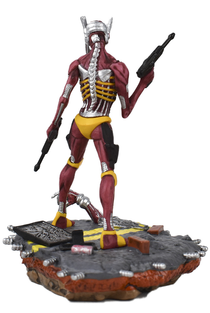 Legacy of the Beast Iron Maiden PVC Statue: Somewhere in Time  - Incendium LLC