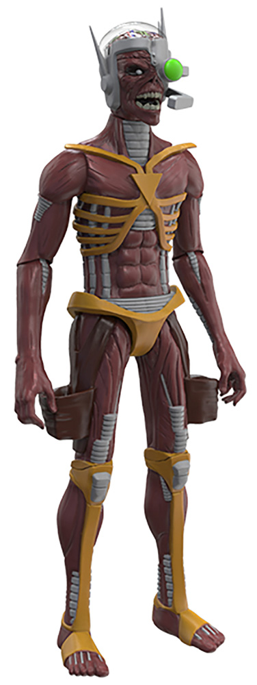 Legacy of the Beast Iron Maiden Action Figure: Cyborg Eddie  (5-inch) - Incendium LLC