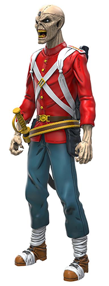 Legacy of the Beast Iron Maiden Action Figure: Trooper Eddie  (5-inch) - Incendium LLC