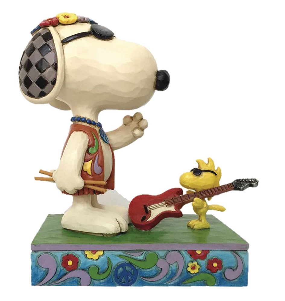Image: Charlie Brown Figure: Snoopy & Woodstock Music  - Enesco Corporation