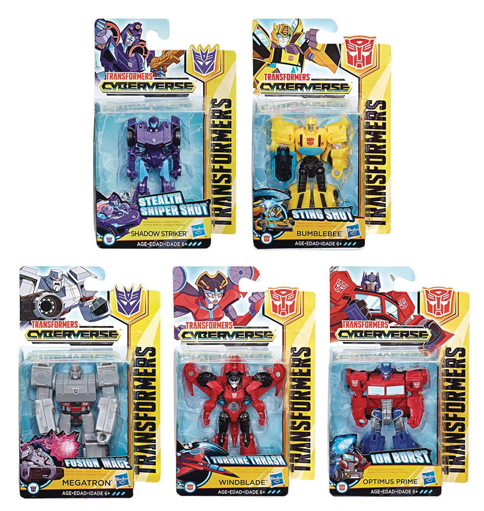 Image: Transformers Cyberverse Scout Action Figure Assortment 201902  - Hasbro Toy Group