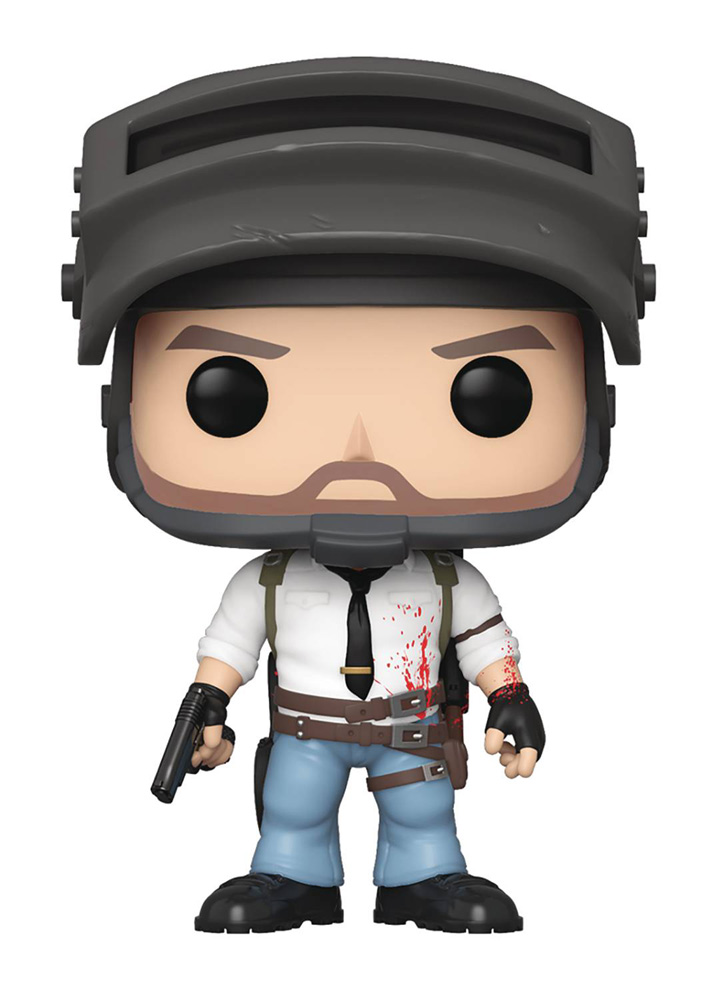 Image: Pop! Games Vinyl Figure: PUBG - Lone Wolf Survivor  - Funko