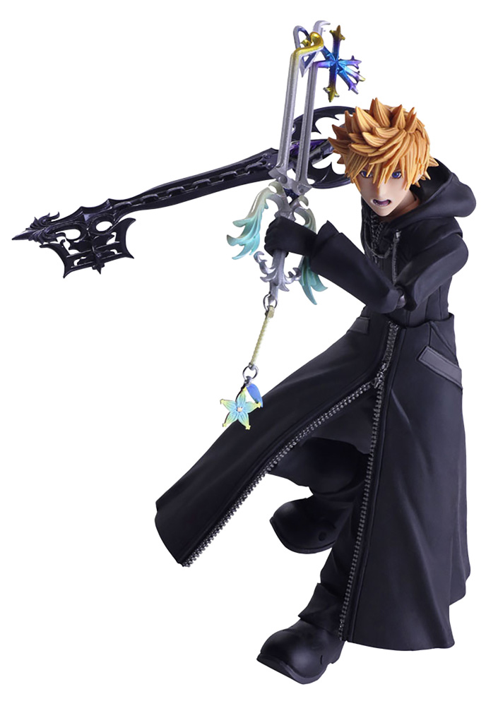 Kingdom Hearts III Bring Arts Action Figure: Roxas  - Square Enix Inc