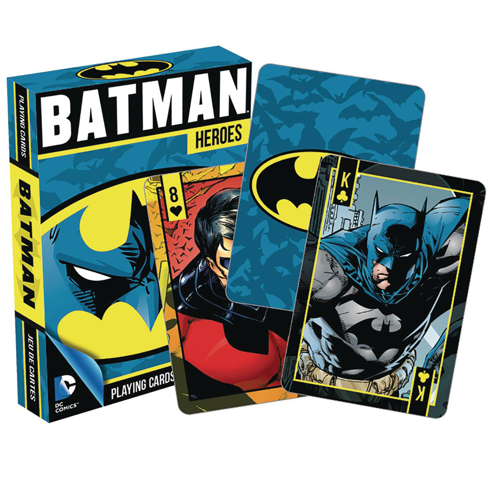 Image: DC Heroes Playing Cards: Batman  - Nmr Distribution America