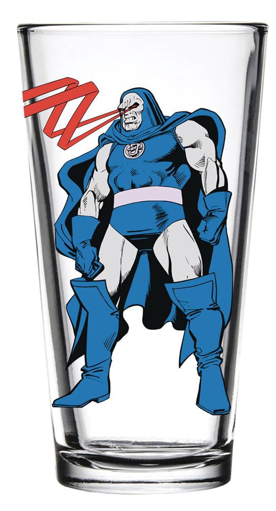 DC Toon Tumblers Pint Glass: Darkseid  - Popfun Merchandising LLC