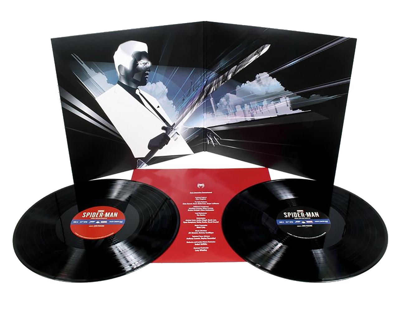 Marvel Albums: Marvels Spider-Man Original Video Game Soundtrack 2XLP  - Mondo Tees LLC