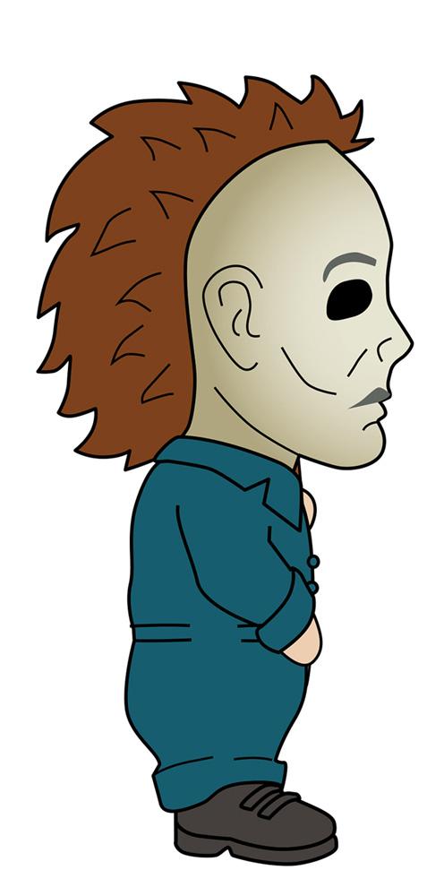 Creepy Classix Krusheez Stress Ball: Halloween 6 - Michael Myers  - Spherewerx