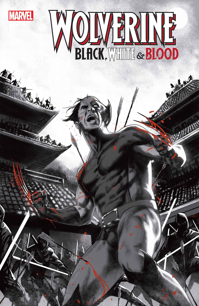 Image: Wolverine: Black, White & Blood #3 (incentive 1:25 cover - Clarke) - Marvel Comics