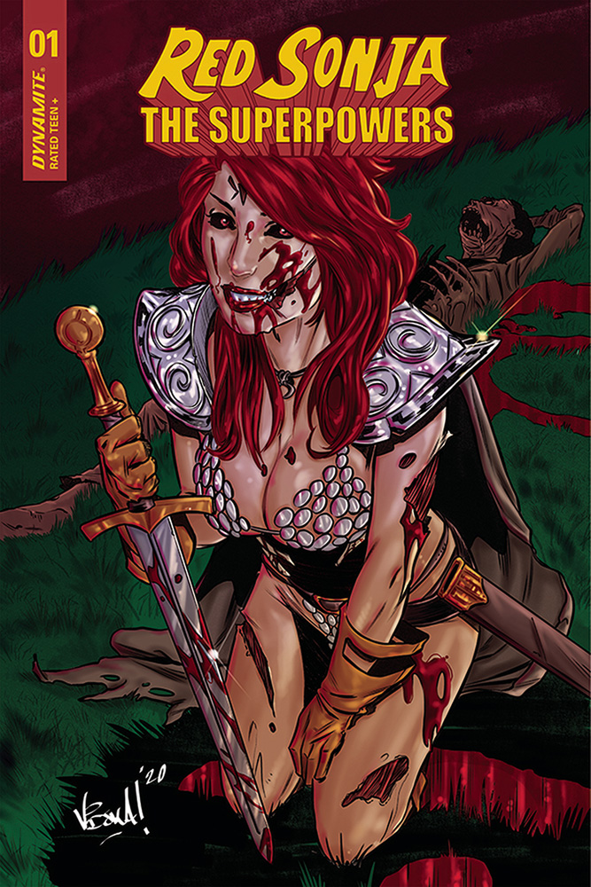 Image: Red Sonja: The Superpowers #1 (incentive 1:10 cover - Federici)  [2021] - Dynamite