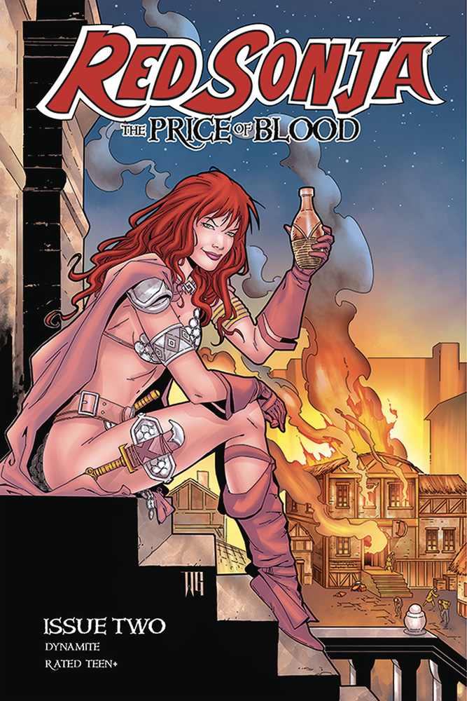 Image: Red Sonja: Price of Blood #2 (cover D - Geovani) - Dynamite