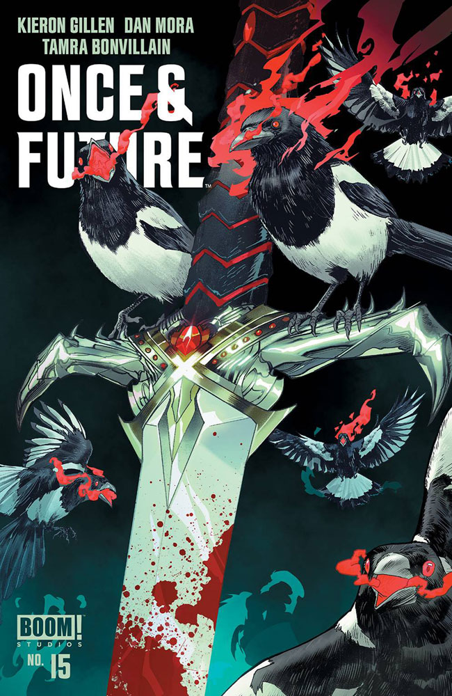 Image: Once & Future #15 - Boom! Studios