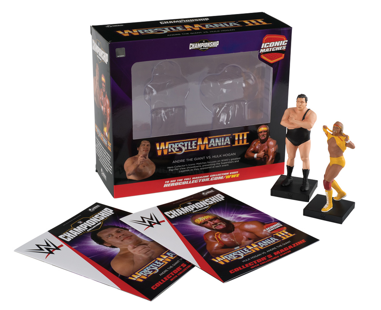 Image: WWE Special #3 (Andre the Giant & Hulk Hogan - Wrestlemania 1987) - Hero Collector
