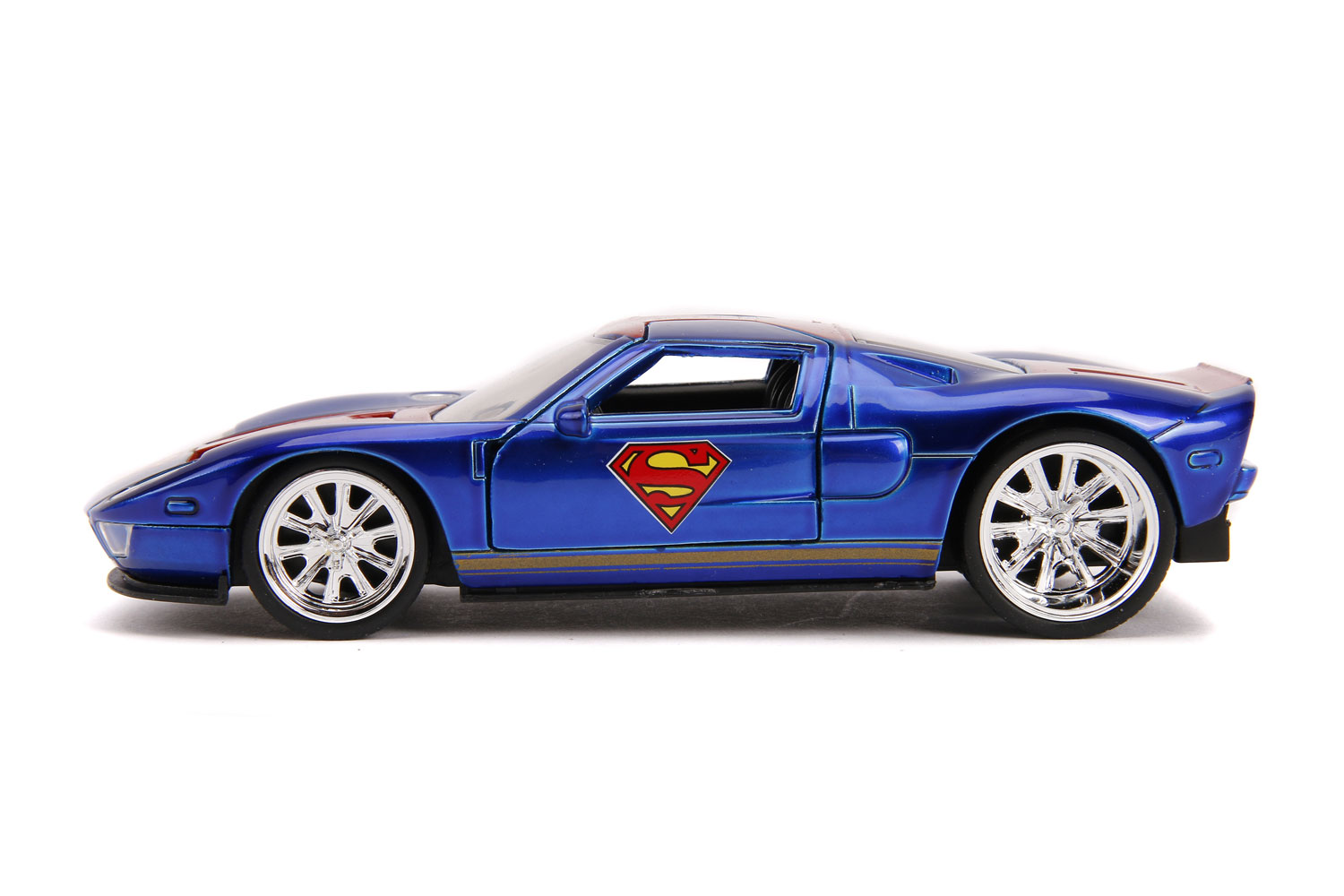 DC Vehicle: Superman 2005 Ford GT  (1/32 scale) - Jada Toys, Inc