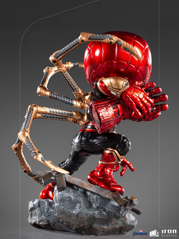 Minico Avengers Endgame Vinyl Statue: Iron Spider  - Iron Studios