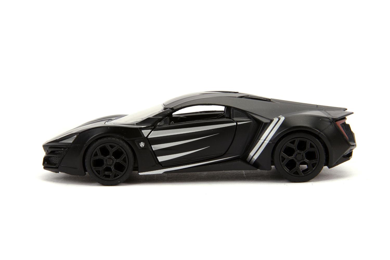 Marvel Vehicle: Black Panther Lykan Hypersport  (1/32 scale) - Jada Toys, Inc