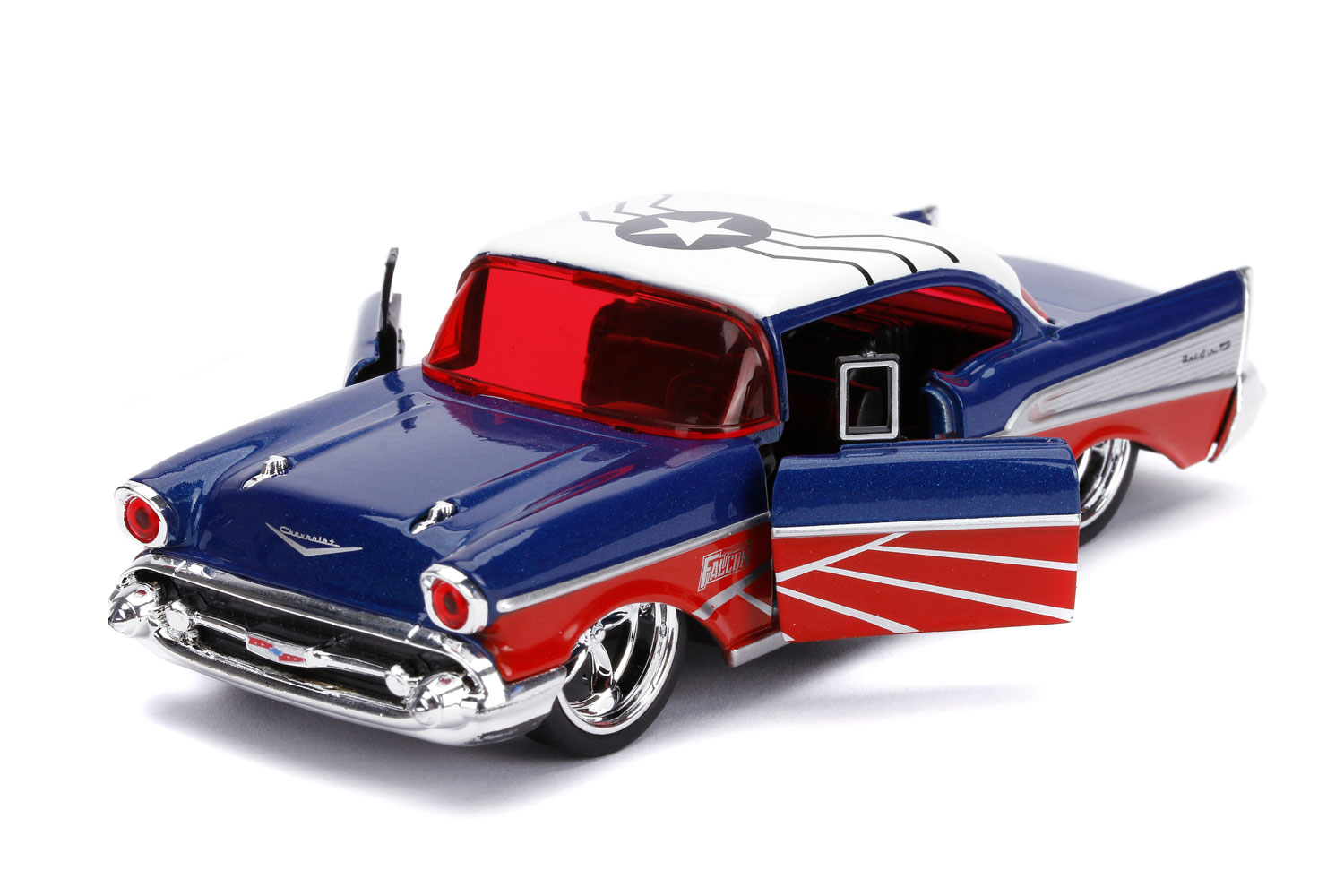 Marvel Vehicle: Falcon 1957 Chevy Bel Air  (1/32 scale) - Jada Toys, Inc