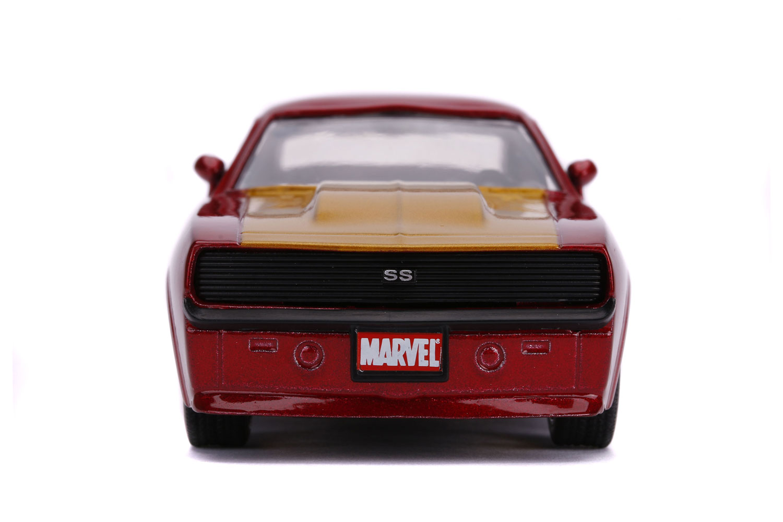 Marvel Vehicle: Iron Man 1969 Chevy Camaro  (1/32 scale) - Jada Toys, Inc