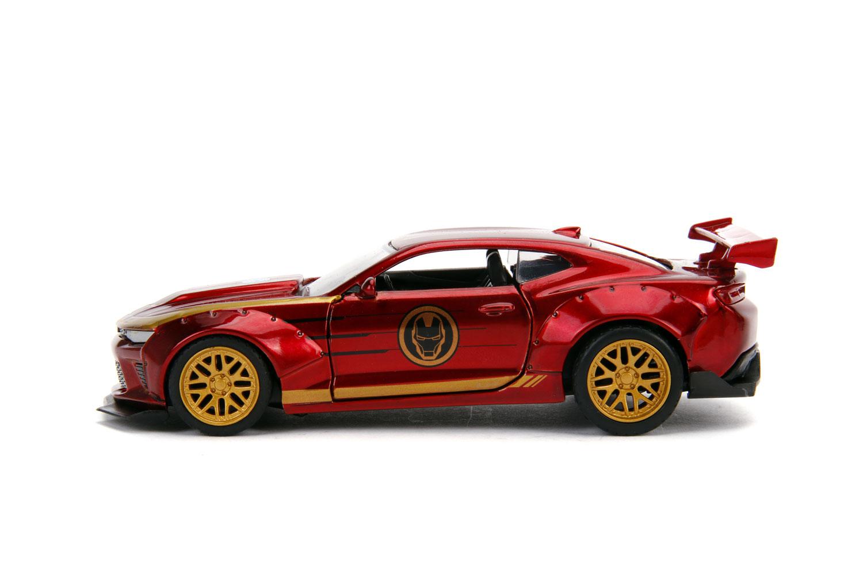 Marvel Vehicle: Iron Man 2016 Chevy Camaro SS  (1/32 scale) - Jada Toys, Inc