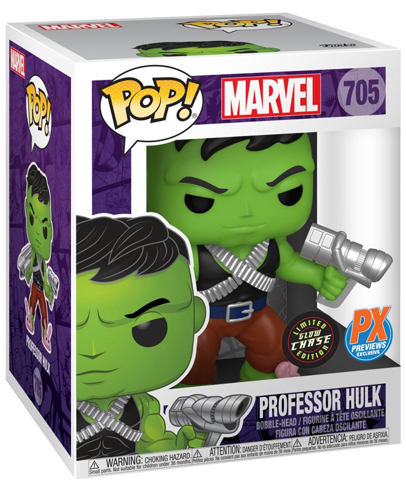 Pop! Marvel Bobble-Head: Professor Hulk  - Funko