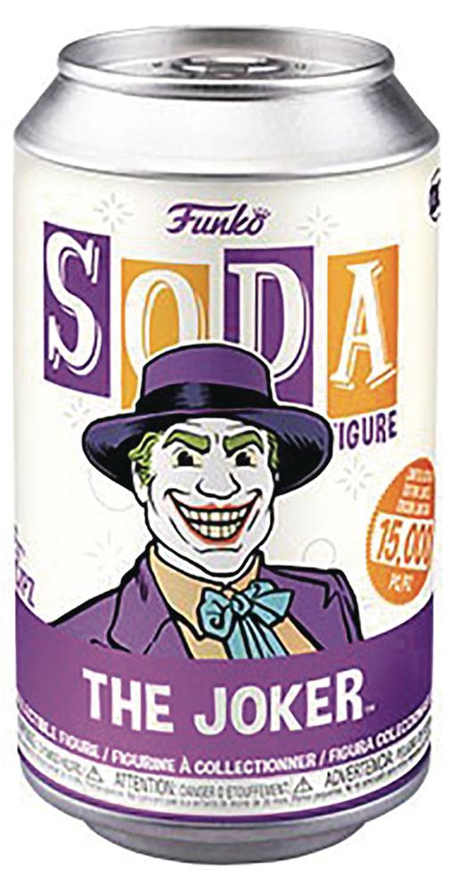 Vinyl SODA: DC - Joker 1989  (w/Chase) - Funko