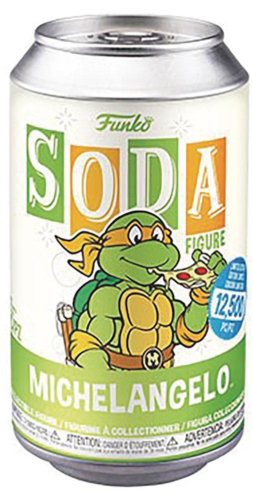 Vinyl SODA: Teenage Mutant Ninja Turtles - Michaelangelo  (w/Glow Chase) - Funko