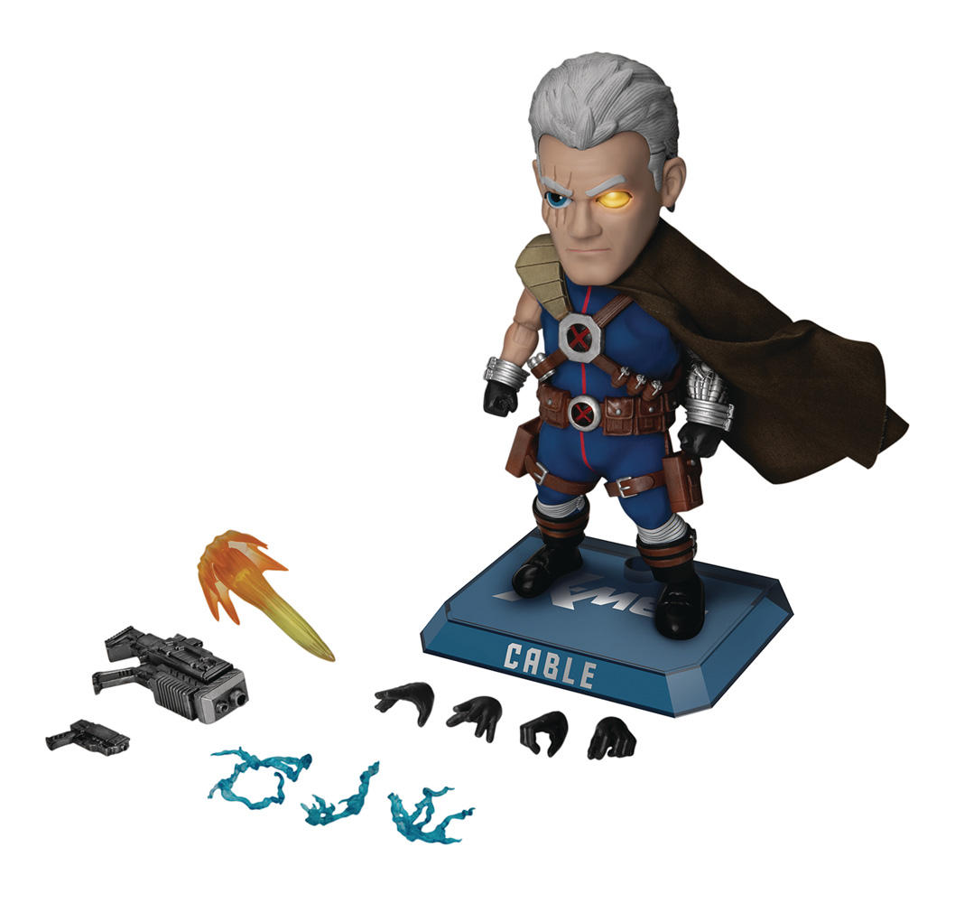 Image: X-Men Action Figure: EAA-097 Cable  - Beast Kingdom Co., Ltd