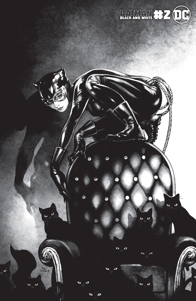 Image: Batman Black and White #2 (variant Catwoman cover - Kamome Shirahama) - DC Comics