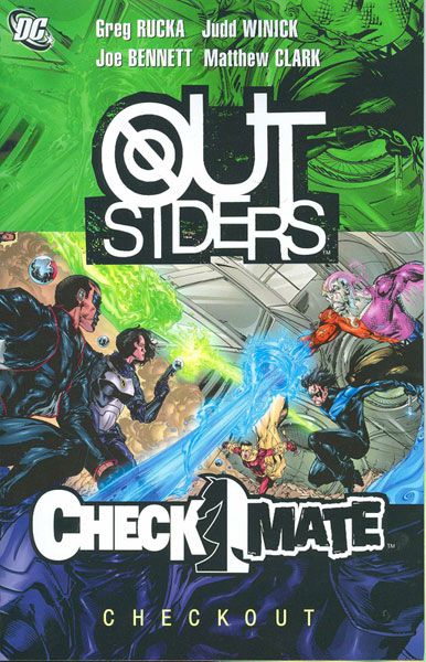 Image: Outsiders / Checkmate: Checkout SC  - DC Comics