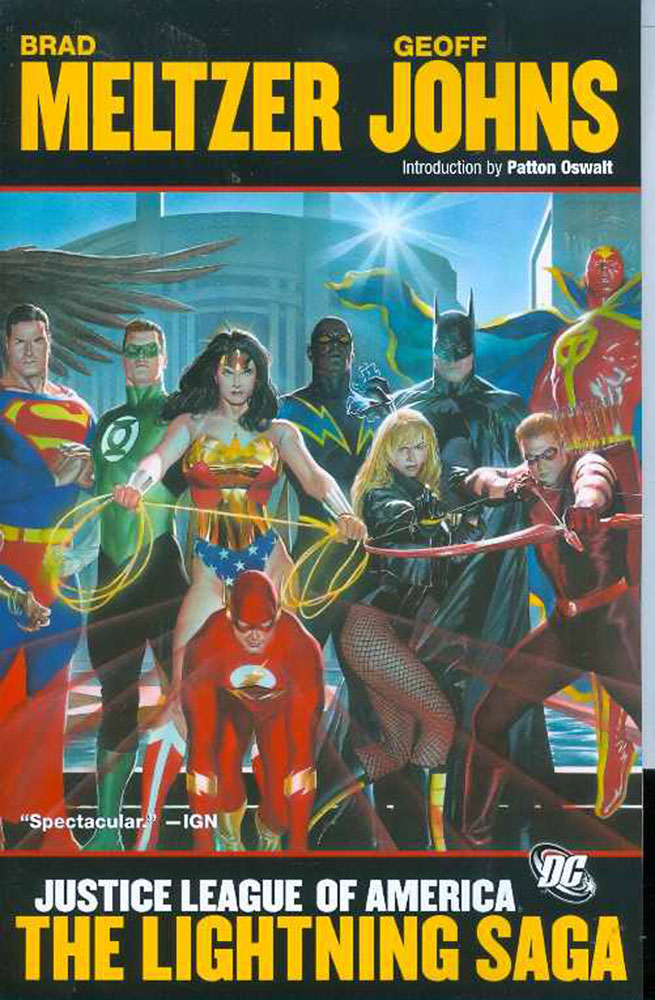 Image: Justice League of America: Lightning Saga SC  - DC Comics