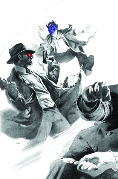 Image: X-Men Noir: Mark of Cain #1 (Calero variant cover) - Marvel Comics